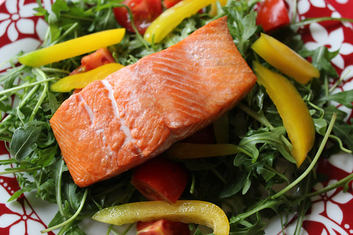 Salmon citrus salad 2