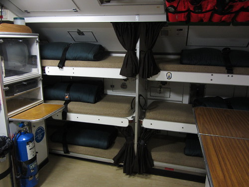 submarine crew bunks