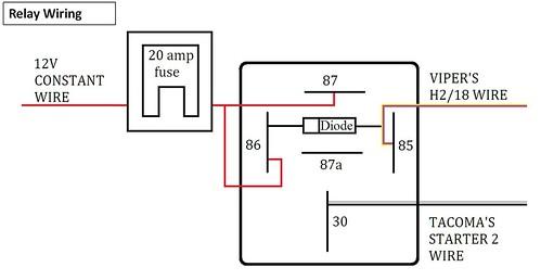 vehicle alarm wiring diagram probability venn worksheet how to install a viper 5704 remote start tacoma world img