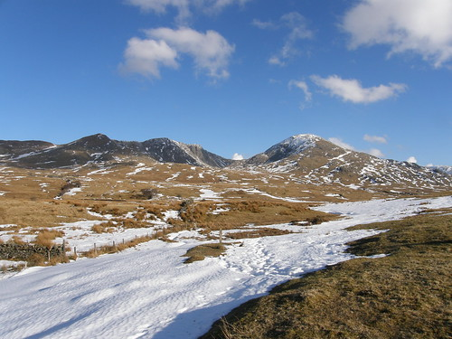 Dow Crag and Coniston Old Man