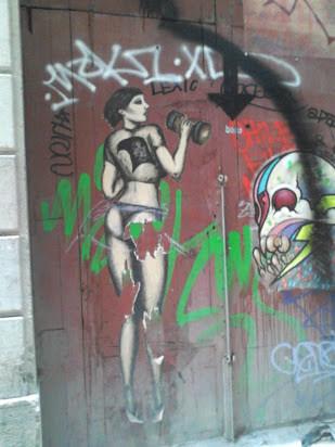 Arte callejero sexy by debolsillo