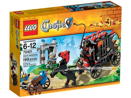 LEGO Castle 2013 70401 Gold Getaway Box