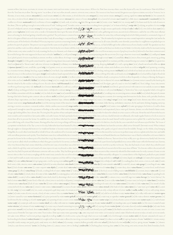 Limnology (28 x 38cm print)