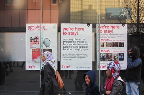 HMV, Market Street, Manchester