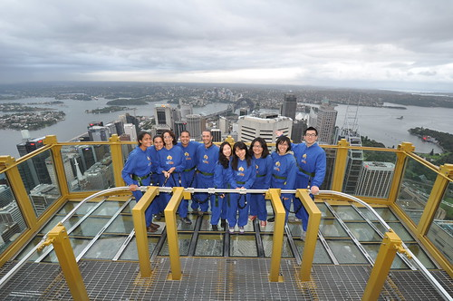 skywalk group shot
