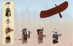 The Lone Ranger 79107 Comanche Camp ins01