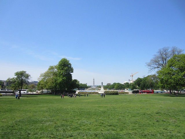View from the Capitol Lawn