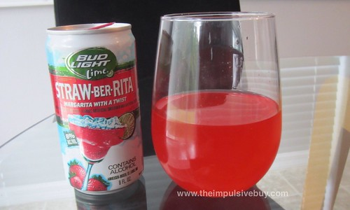 Bud Light Lime Straw-Ber-Rita Color