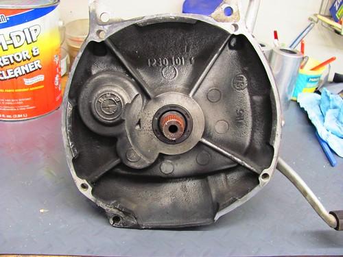 Transmission Front Gunge