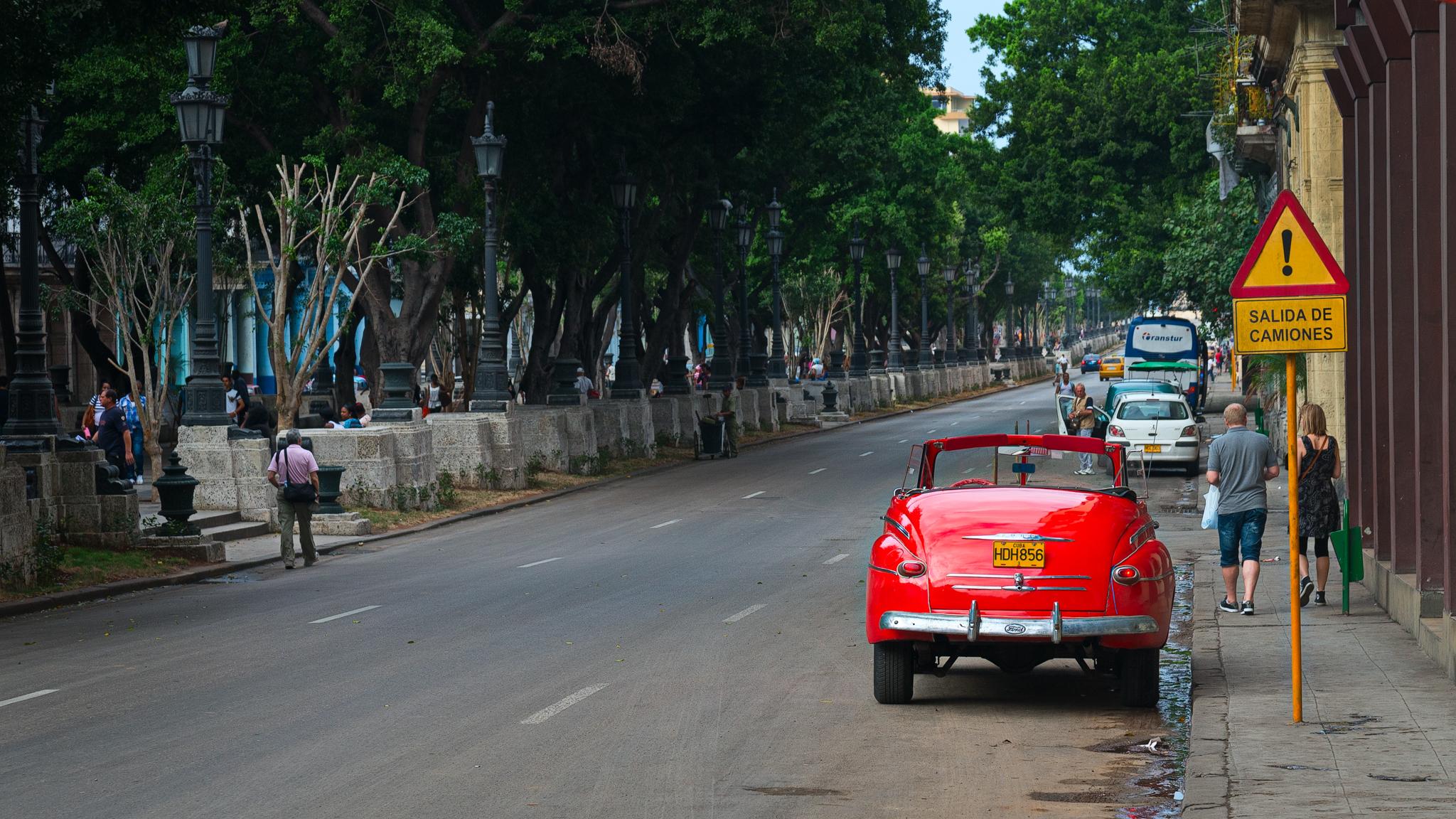 Red Car - Havana - 2013