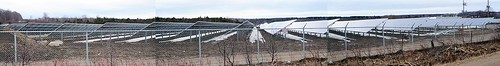 solar farm near MIDLAND, ONTARIO, CANADA
