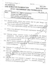 DTU Question Papers 2010 – 6 Semester - End Sem - BT-311
