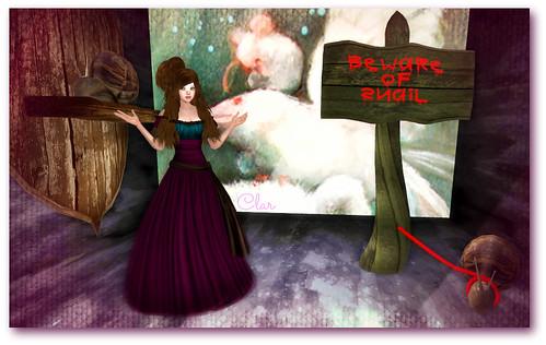 Nyria Dress + Snail Mount + Beware