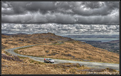 Between Kinsale and Kenmare, in the Caha Mountains - Ireland