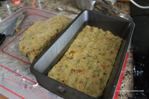 Apricot and Pistachio Biscotti at www.culinarycousins.com