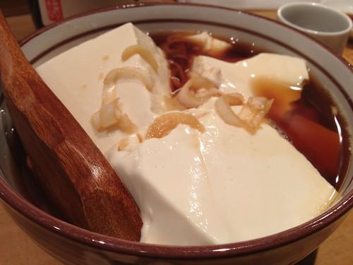 自家製豆腐@居酒屋純ちゃん