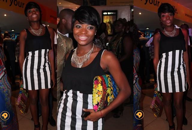 fashion at flower girl premiere