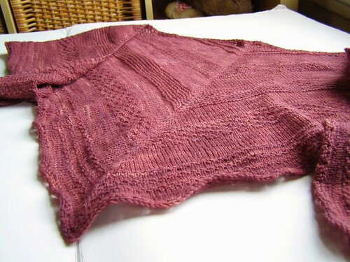 sampler shawl