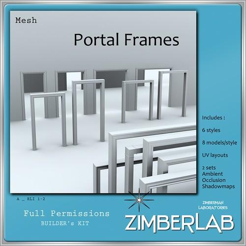 ZimberLab Portal Frames A