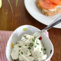 Garlic, Dill, and Chive Cream Cheese
