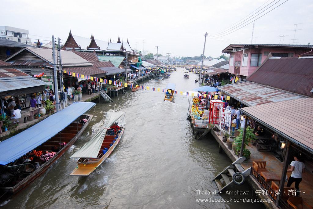 《曼谷水上市場攻略》見證歷史與傳統的水上市場,發掘東方威尼斯的泰國之美! | 愛旅博客