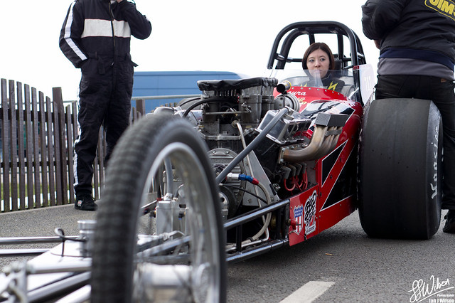 Lady Drag Racer