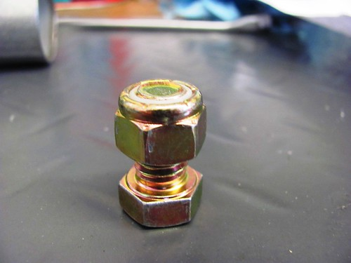 16 MM Bolt with Nylon Lock Nut-Faces Aligned