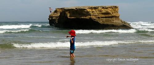 Summer Synchronicity at Jan Juc Beach, Australia by sawelli