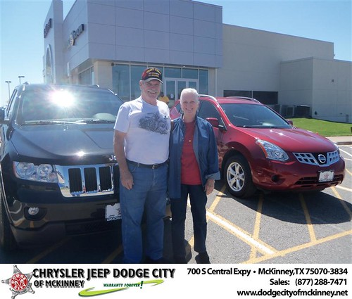 Dodge City of McKinney would like to say Congratulations to Nuria Rodriguez on the 2013 Jeep Cherokee by Dodge City McKinney Texas