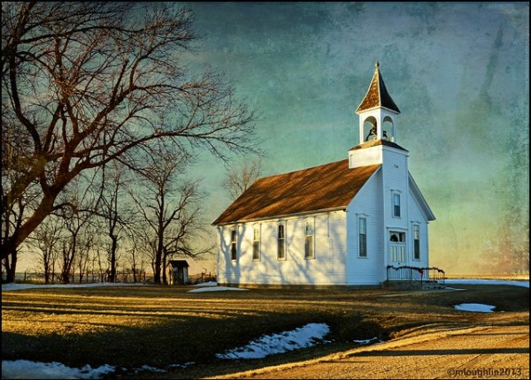Methodist Church, Battle Center, Iowa.