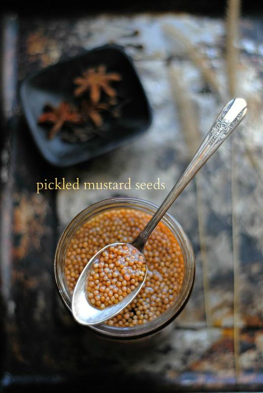 Pickled Mustard Seeds
