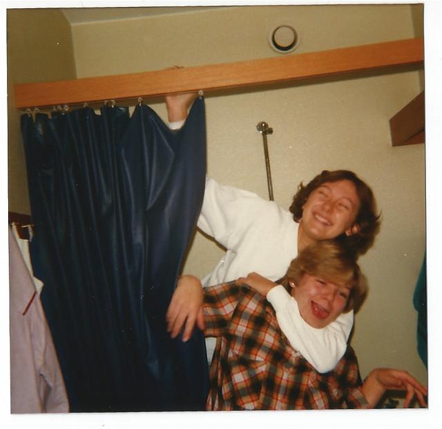 anne & jag i Karins dusch-78