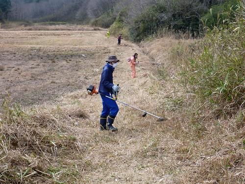 南相馬小高区上根沢でお手伝い(援人 2013年3月30日) Volunteer at Minamisoma, Fukushima. Affrected by the Tsunami of Japan Earthquake and Fukushima Daiichi nuclear plant accident.