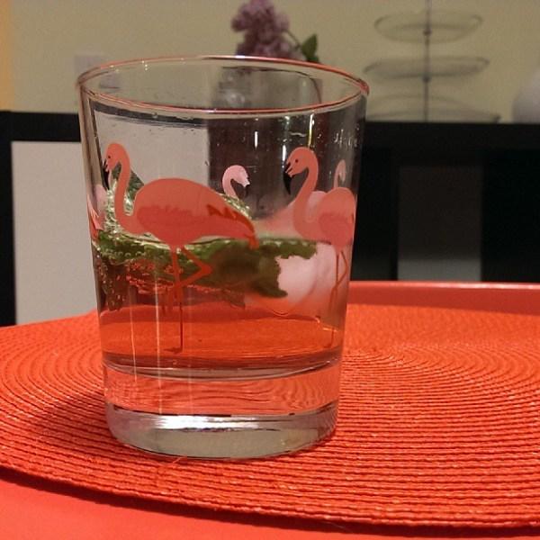 Gin, strawberry soda & mint