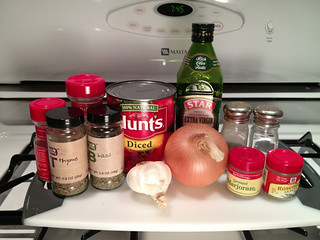 Ingredients for Easy Pasta Sauce