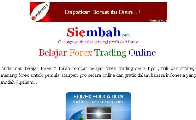 belajar forex gratuit untuk pemul)