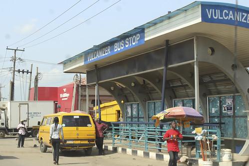 Vulcanizer Bus Stop Lagos by Jujufilms