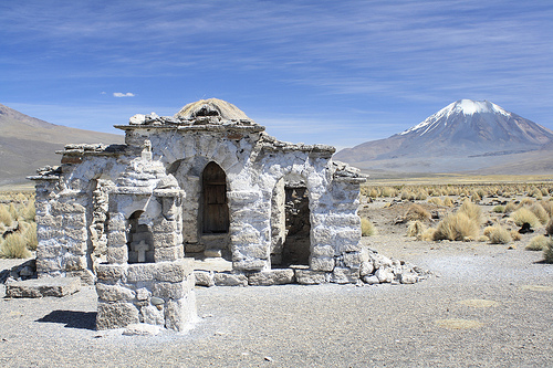 In Sajama National Park, Bolivia.