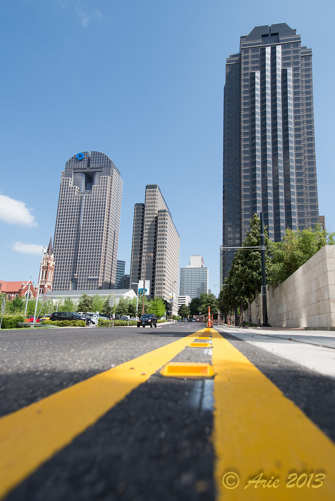 Dallas Museum District Street and Uptown photography