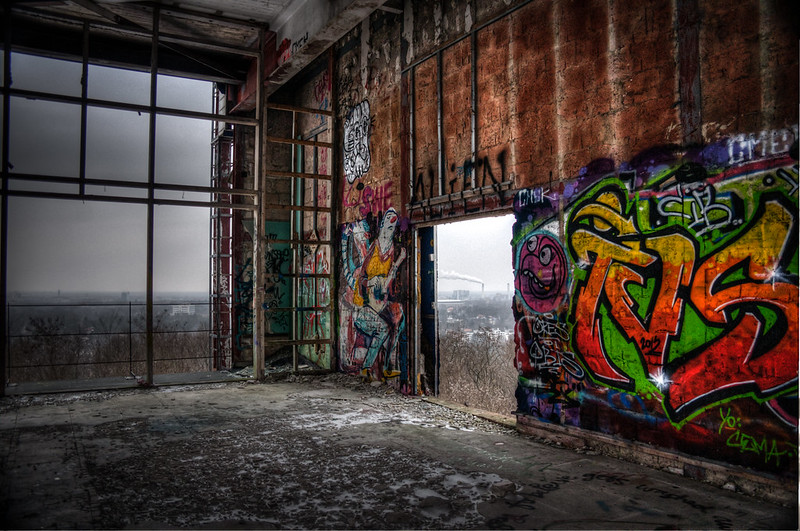 Teufelsberg Berlin abandoned buildings