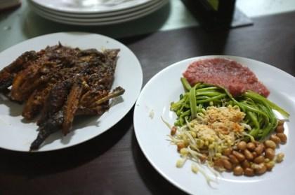 stopped by ayam taliwang restaurant