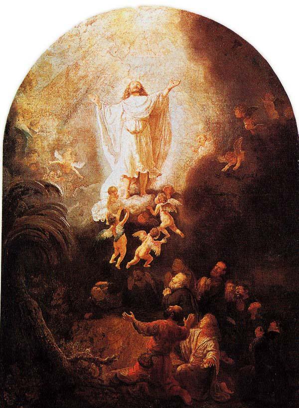 Rembrandt van Rijn, Hemelvaart, Christi Himmelfahrt, 1636, Alte Pinakothek München