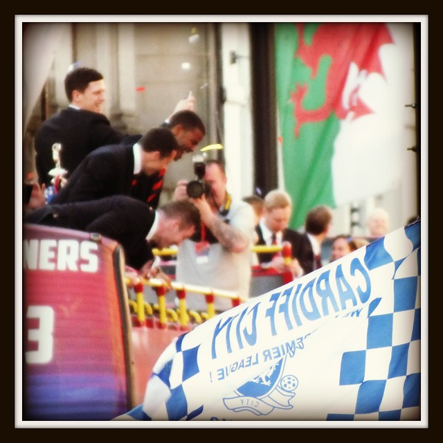 Cardiff City Promotion Parade