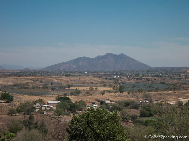 Tequila Volcano, and fields of blue agave