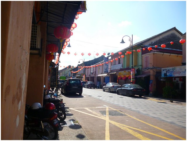 End of Kuala Terengganu Chinatown