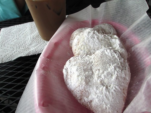 Mmm...Beignets! Simply Sweet, Fishermen's Village, Punta Gorda, Fla., April 13, 2013