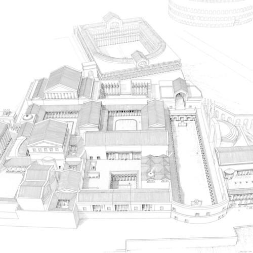ROMA ARCHEOLOGIA e BENI CULTURALI:Rom, Kaiserpalast - Die kaiserlichen Palastanlagen auf dem Palatin in Rom, (ca. 2009), in: DAI - Deutsches Archaologishes Institut, Berlin [2009/2013]. by Martin G. Conde