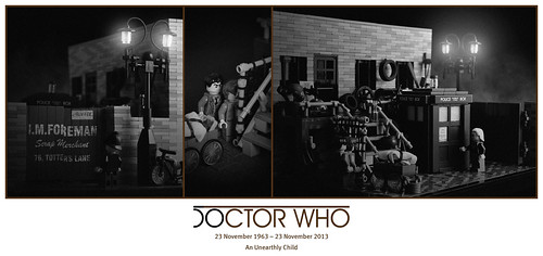 50 years of Doctor Who – 04. An Unearthly Child