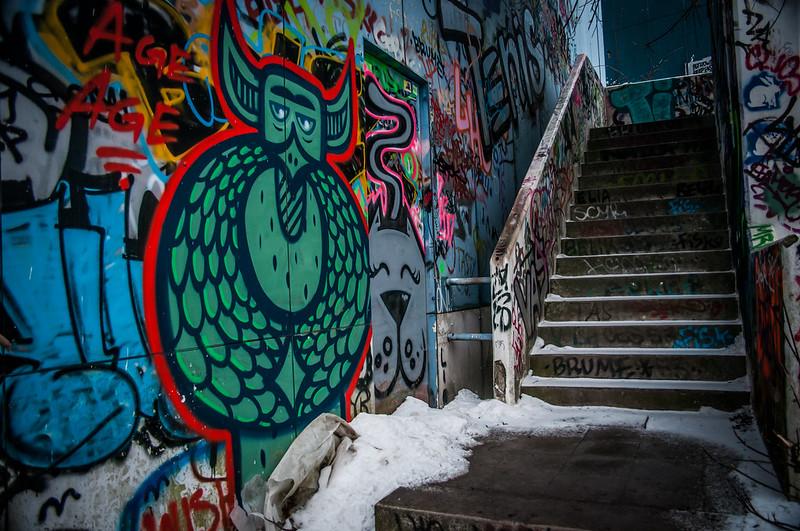abandoned buildings Berlin Graffiti-1