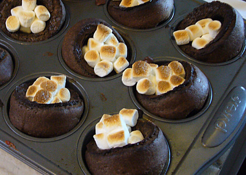 Hot Chocolate Popovers Recipe — Dishmaps